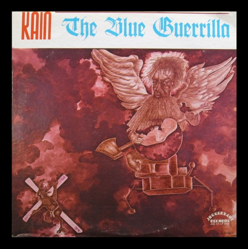 KAIN - Blue Guerrilla (sleeve recto)